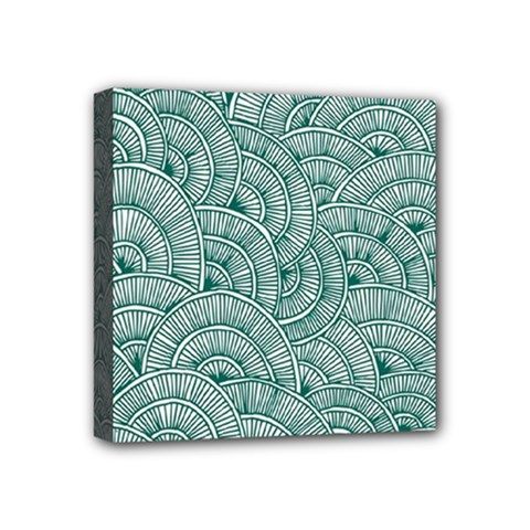 Design Art Wesley Fontes Mini Canvas 4  X 4  by wesleystores