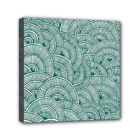 Design Art Wesley Fontes Mini Canvas 6  X 6  by wesleystores