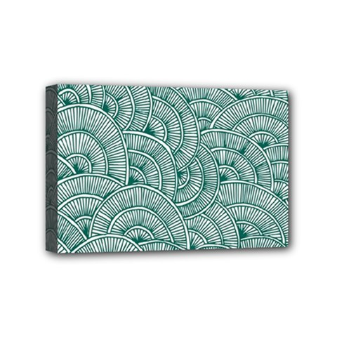 Design Art Wesley Fontes Mini Canvas 6  X 4  by wesleystores