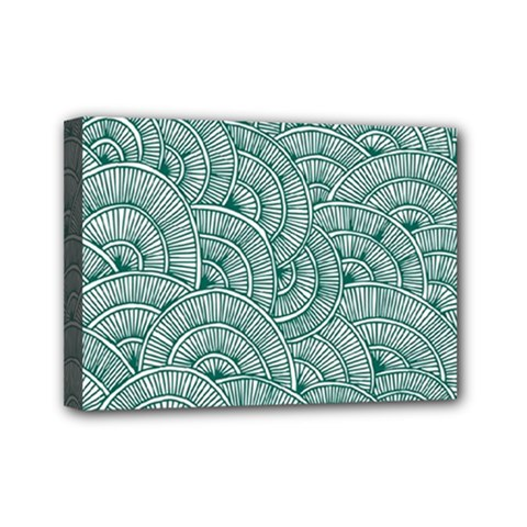 Design Art Wesley Fontes Mini Canvas 7  X 5  by wesleystores