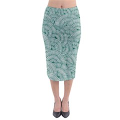 Design Art Wesley Fontes Midi Pencil Skirt by wesleystores