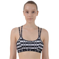 Snowflakes   Christmas Pattern Line Them Up Sports Bra
