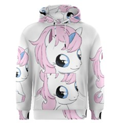 Baby Unicorn Men s Pullover Hoodie by Valentinaart