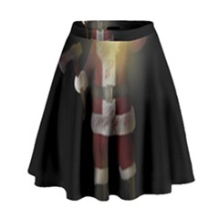 Santa Killer High Waist Skirt