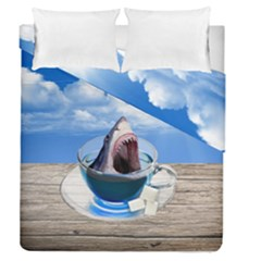 Cup Of Tea Duvet Cover Double Side (queen Size)