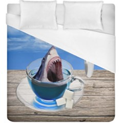 Cup Of Tea Duvet Cover (king Size)