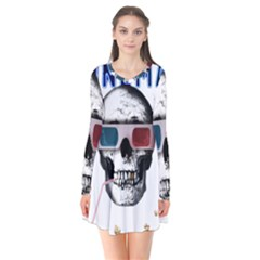 Cinema Skull Flare Dress