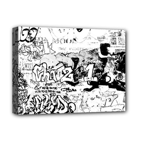 Graffiti Deluxe Canvas 16  X 12   by Valentinaart