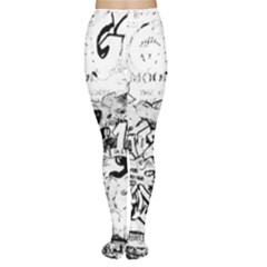 Graffiti Women s Tights