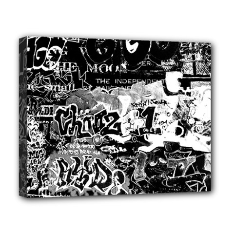 Graffiti Deluxe Canvas 20  X 16   by Valentinaart