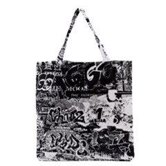 Graffiti Grocery Tote Bag by Valentinaart