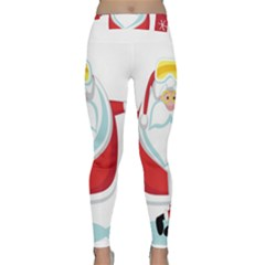 Christmas Santa Claus Classic Yoga Leggings