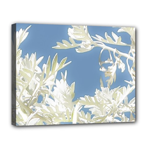 Nature Pattern Canvas 14  X 11  by dflcprintsclothing