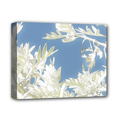 Nature Pattern Deluxe Canvas 14  X 11  by dflcprintsclothing