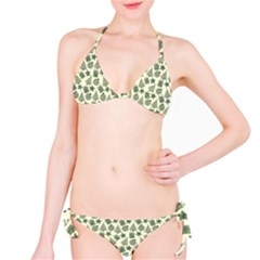 Christmas Pattern Gif Star Tree Happy Bikini Set