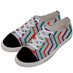 Line Color Rainbow Women s Low Top Canvas Sneakers by Alisyart
