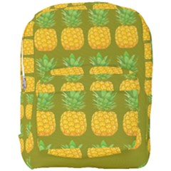 Fruite Pineapple Yellow Green Orange Full Print Backpack