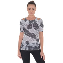 Stone Dragon Camouflage Short Sleeve Top by RespawnLARPer