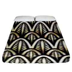 Art Deco Fitted Sheet (king Size)