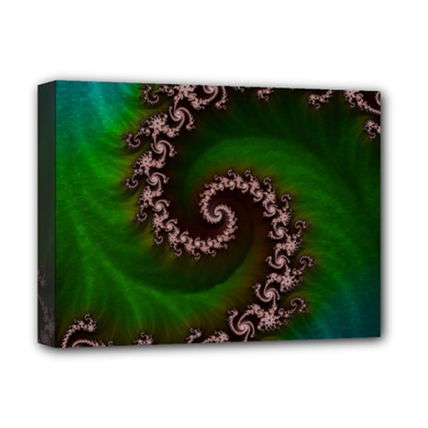 Benthic Saltlife Fractal Tribute For Reef Divers Deluxe Canvas 16  X 12   by jayaprime