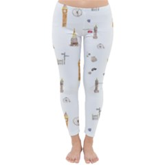 Graphics Tower City Town Classic Winter Leggings