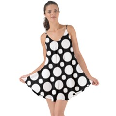 Tileable Circle Pattern Polka Dots Love The Sun Cover Up