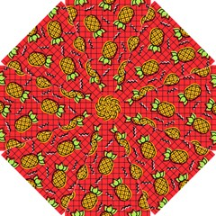 Fruit Pineapple Red Yellow Green Golf Umbrellas by Alisyart