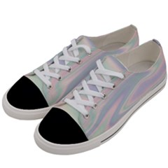 Holographic Design Women s Low Top Canvas Sneakers by tarastyle