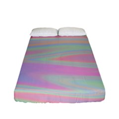 Holographic Design Fitted Sheet (full/ Double Size) by tarastyle