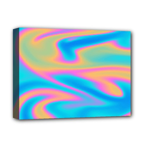 Holographic Design Deluxe Canvas 16  X 12   by tarastyle