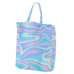Holographic Design Giant Grocery Zipper Tote by tarastyle