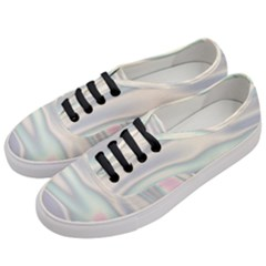 Holographic Design Women s Classic Low Top Sneakers by tarastyle