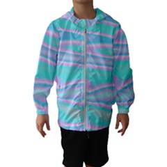 Holographic Design Hooded Wind Breaker (kids)