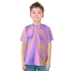 Holographic Design Kids  Cotton Tee