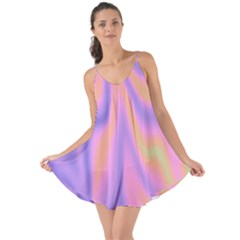 Holographic Design Love The Sun Cover Up