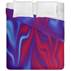 Holographic Design Duvet Cover Double Side (california King Size) by tarastyle