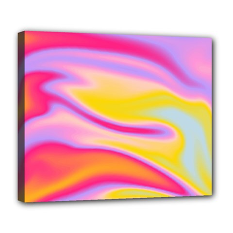 Holographic Design Deluxe Canvas 24  X 20   by tarastyle