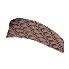 Scales2 Black Marble & Brown Denim Stretchable Headband