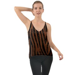 Skin4 Black Marble & Dull Brown Leather (r) Cami