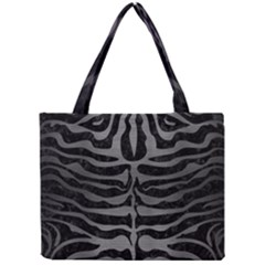 Skin2 Black Marble & Gray Brushed Metal (r) Mini Tote Bag by trendistuff