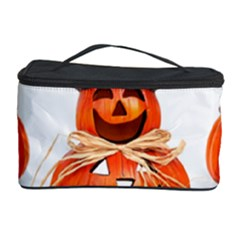 Funny Halloween Pumpkins Cosmetic Storage Case by gothicandhalloweenstore