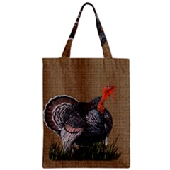 Thanksgiving Turkey Zipper Classic Tote Bag by Valentinaart