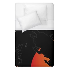 Castil Witch Hlloween Sinister Night Home Bats Duvet Cover (single Size)