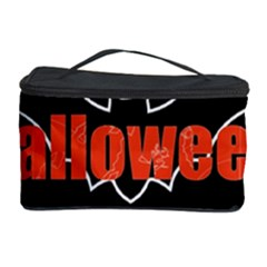 Halloween Bat Black Night Sinister Ghost Cosmetic Storage Case