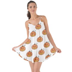 Face Mask Ghost Halloween Pumpkin Pattern Love The Sun Cover Up