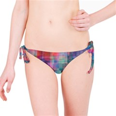 Rainbow Prism Plaid  Bikini Bottom by KirstenStar