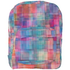 Rainbow Prism Plaid  Full Print Backpack by KirstenStar