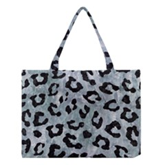 Skin5 Black Marble & Ice Crystals (r) Medium Tote Bag by trendistuff