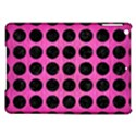CIRCLES1 BLACK MARBLE & PINK BRUSHED METAL iPad Air Hardshell Cases View1
