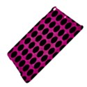 CIRCLES1 BLACK MARBLE & PINK BRUSHED METAL iPad Air Hardshell Cases View4